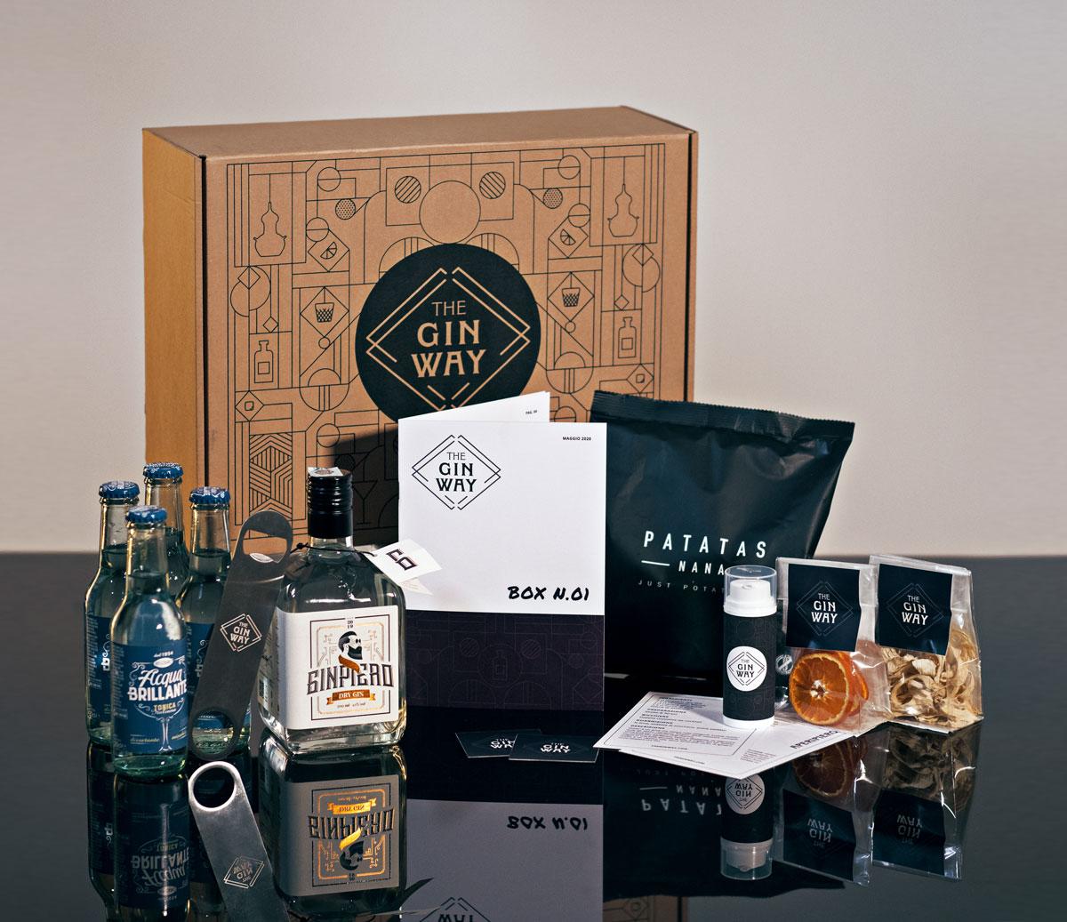 The Gin Way: il contenuto della box di maggio 2020